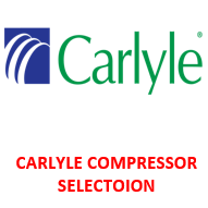 CARLYLE COMPRESSOR SELECTOION