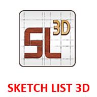 SKETCH LIST 3D