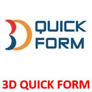 3D QUICK FORM