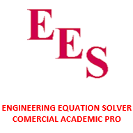 ENGINEERING EQUATION SOLVER COMERCIAL ACADEMIC PRO