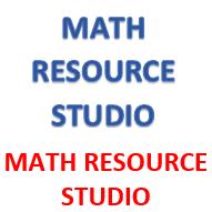 MATH RESOURCE STUDIO