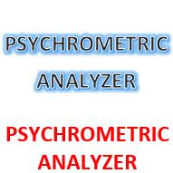 PSYCHROMETRIC ANALYZER