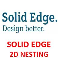 SOLID EDGE 2D NESTING